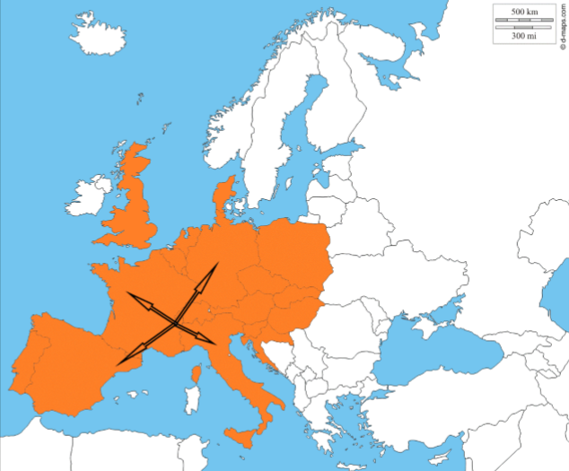 transport en Europe, transporteur